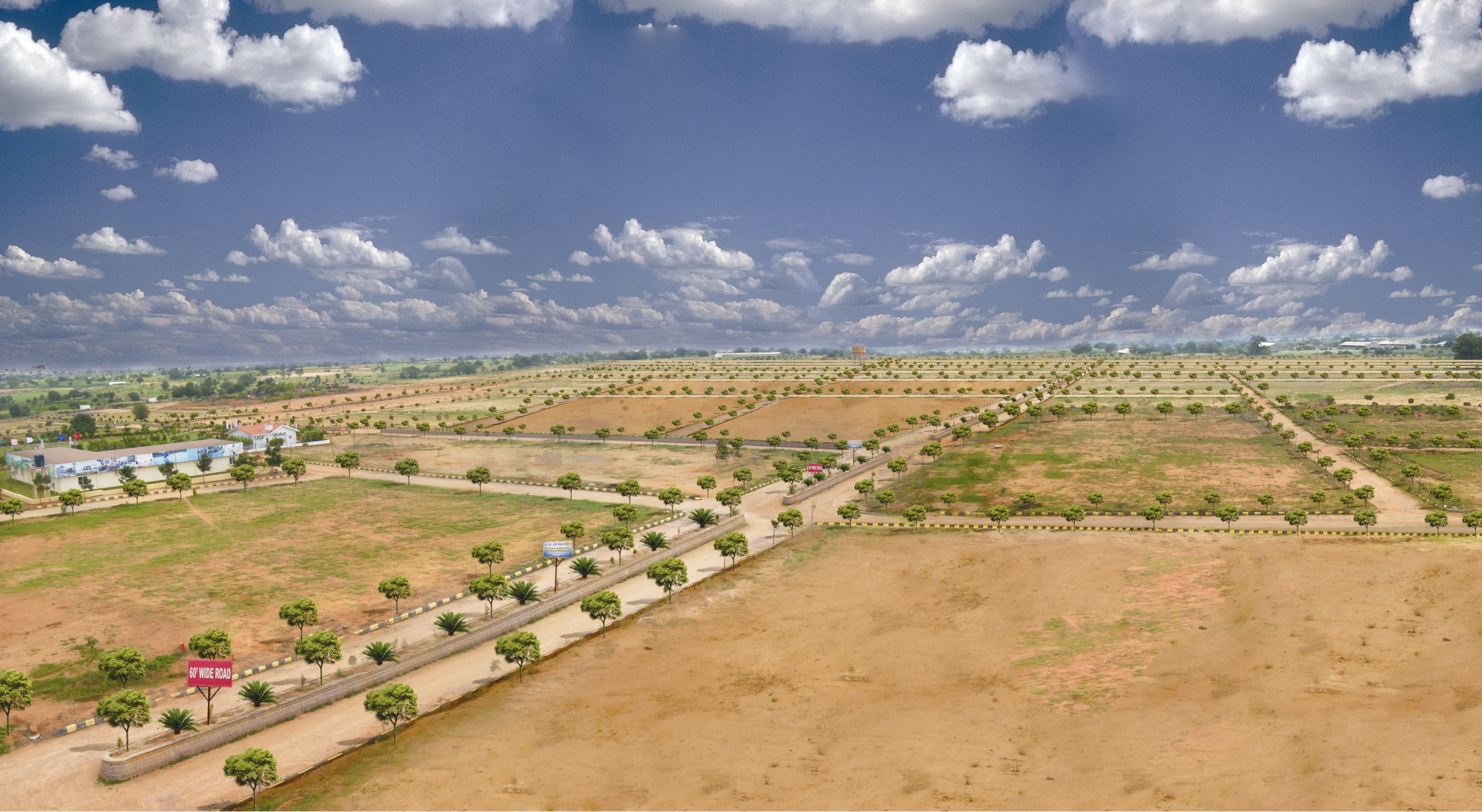 Nri Colony  Open Plots And Villas In Srisailam Highway-9718